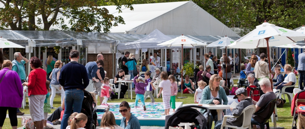 Edinburgh International Book Festival Day 1