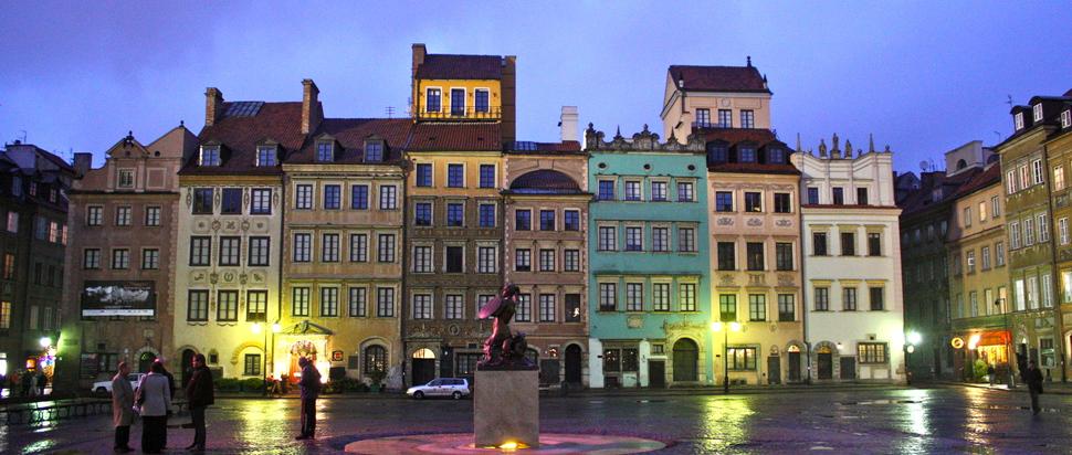 Warsaw buildings