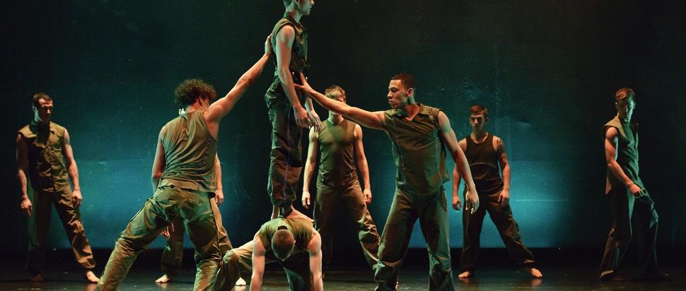 Ballet Boyz in Russell Maliphant's 'Fallen'