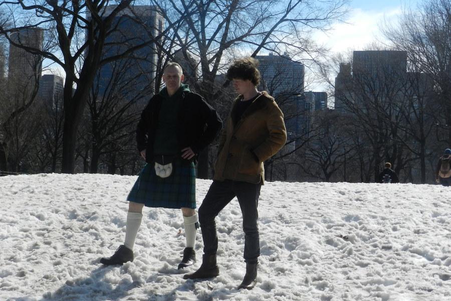 Michael Pedersen & Kevin Williamson of Neu! Reekie! in NYC