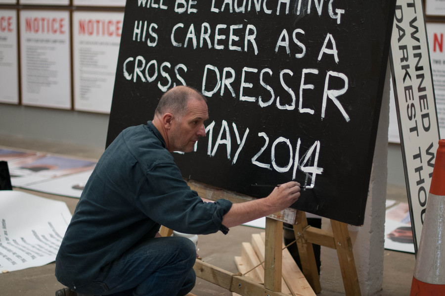 Bill Drummond at Supersonic Festival 2014