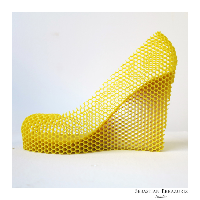 Shoe 1 -- Honey