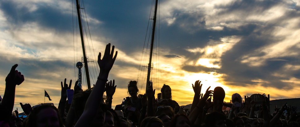 Sunset on Day One at TITP