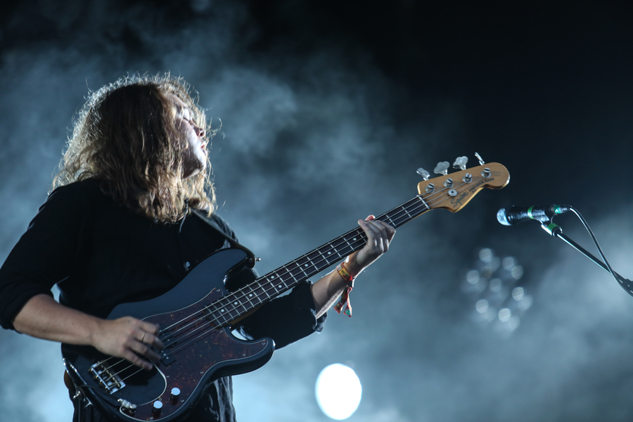 Bombay Bicycle Club on the Radio 1 Stage
