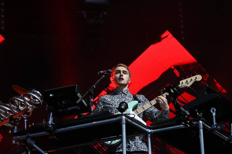 Disclosure on the Radio 1 Stage