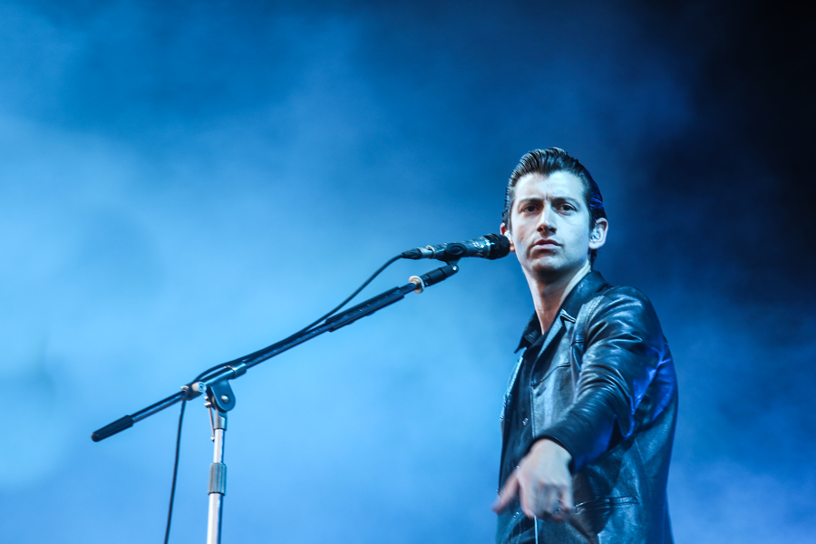Arctic Monkeys on the Main Stage