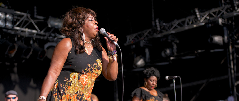 Martha Reeves at Wickerman Festival 2014