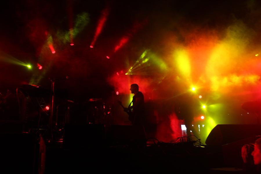 65daysofstatic @ Beacons Festival 2014