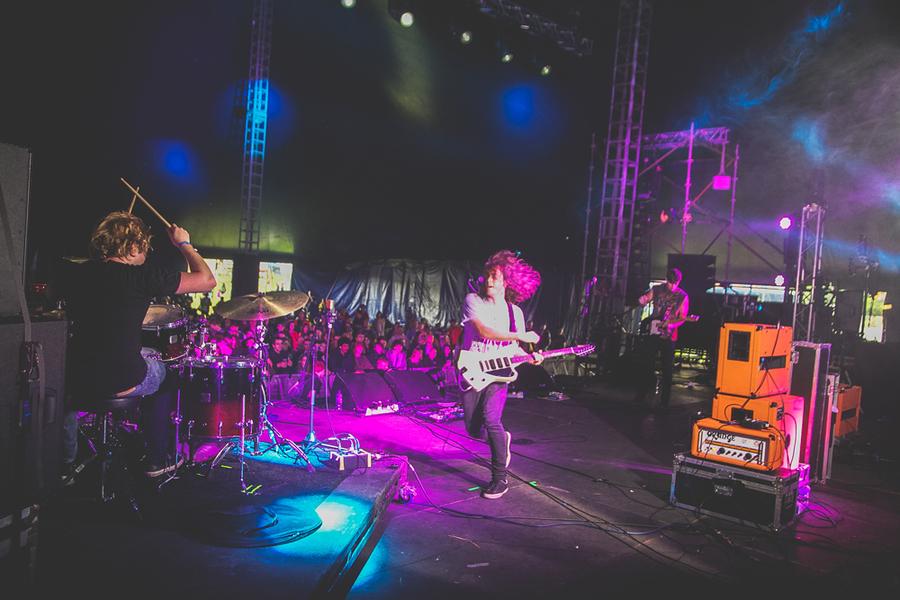 DZ Deathrays @ Beacons Festival 2014