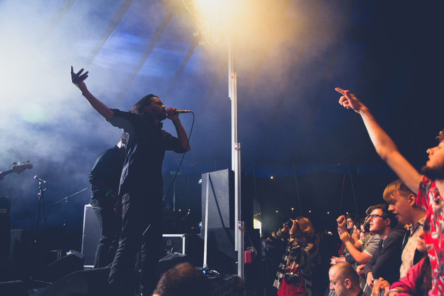 Melt Yourself Down @ Beacons Festival 2014