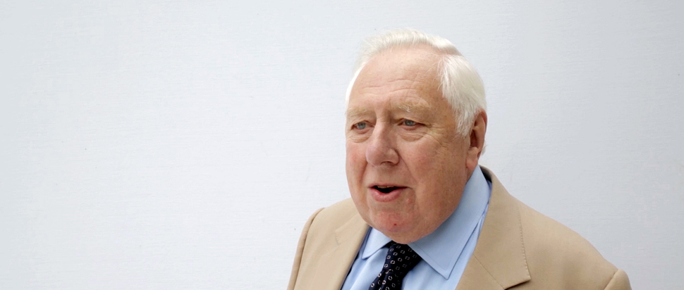 Roy Hattersley video still