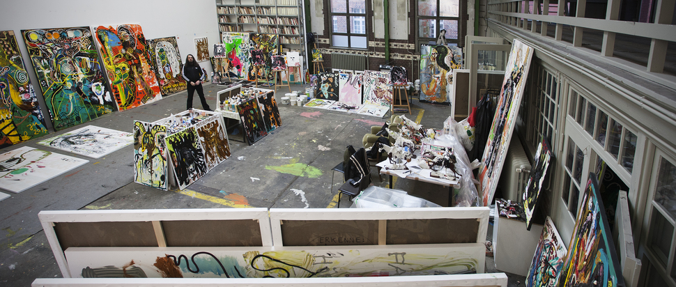 Eat, Drink, Sleep, Paint: Jonathan Meese and The Dictatorship of Art