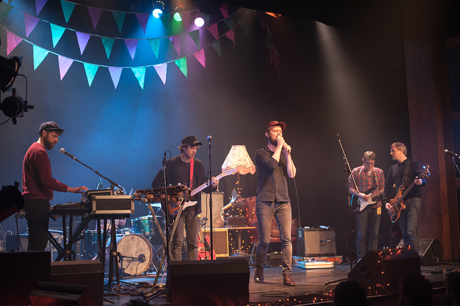 Phantom Band at The Pleasance Sessions 2014