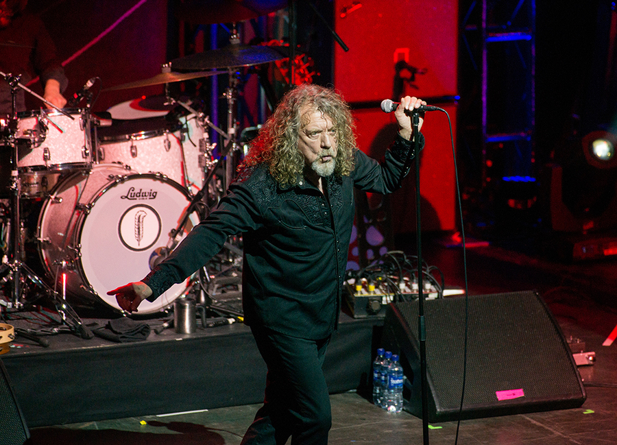 Robert Plant at Glasgow Academy