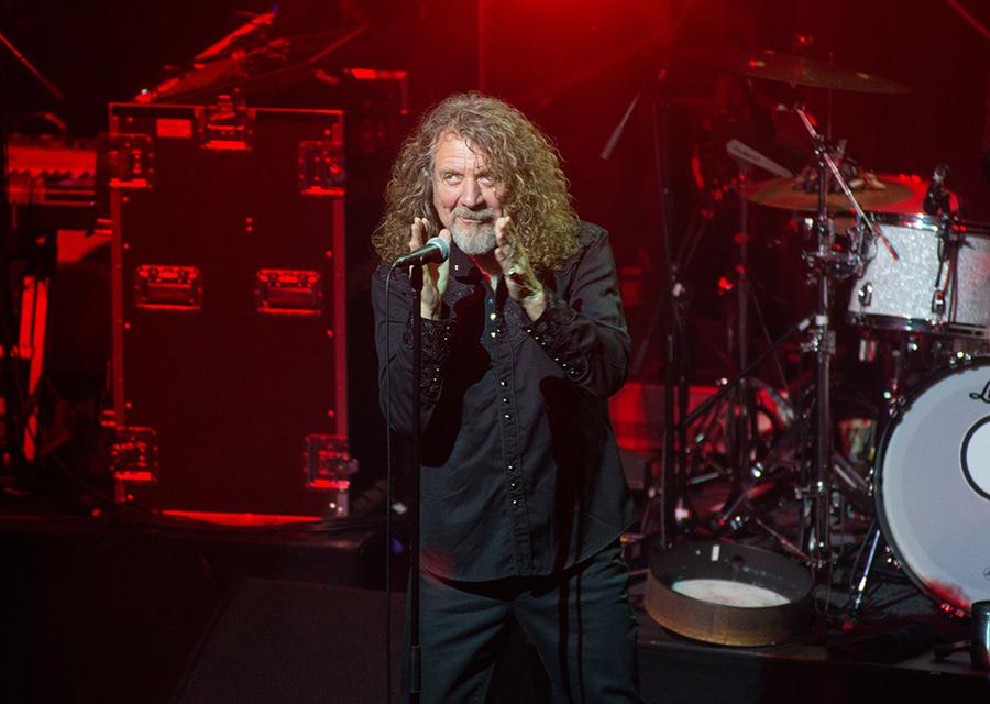 Robert Plant at Glasgow Academy