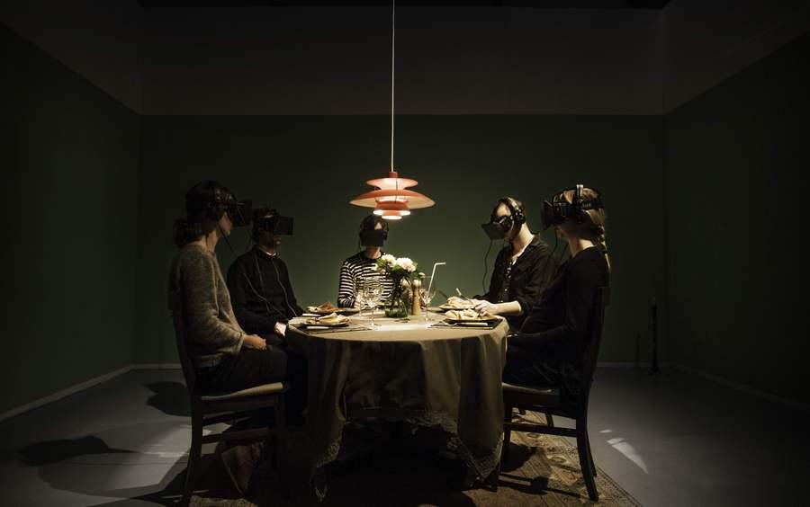 Dark Matters - Skammekrogen installation