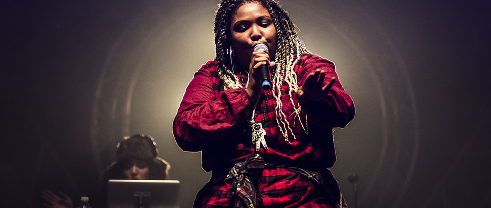 Lizzo at Trans Musicales 2014