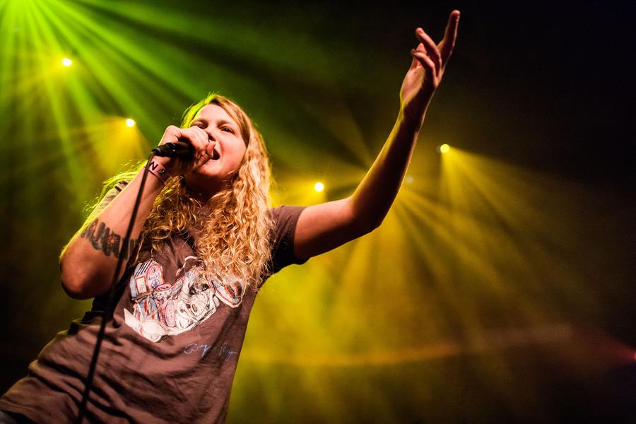 Kate Tempest at Eurosonic 2015