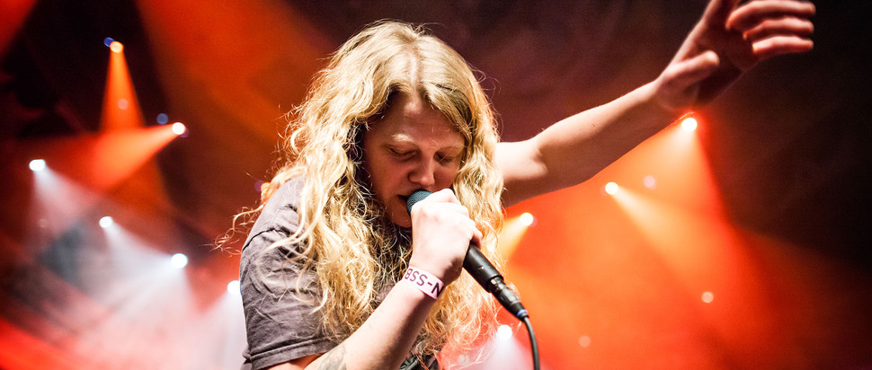 Kate Tempest at Eurosonic 2015 by Bart Heemskerk