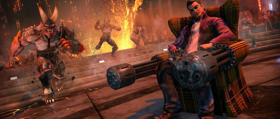 Saints Row IV Re-Elected / Gat Out of Hell