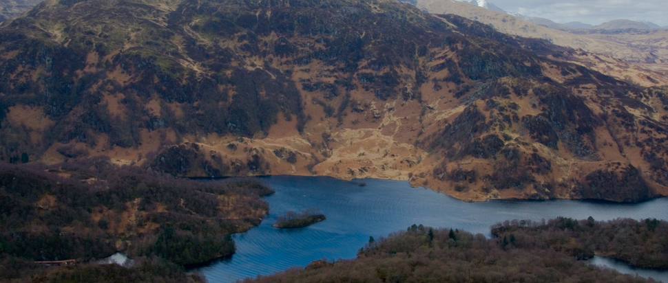 Loch Katrine / Ben A'an  by Stephen G
