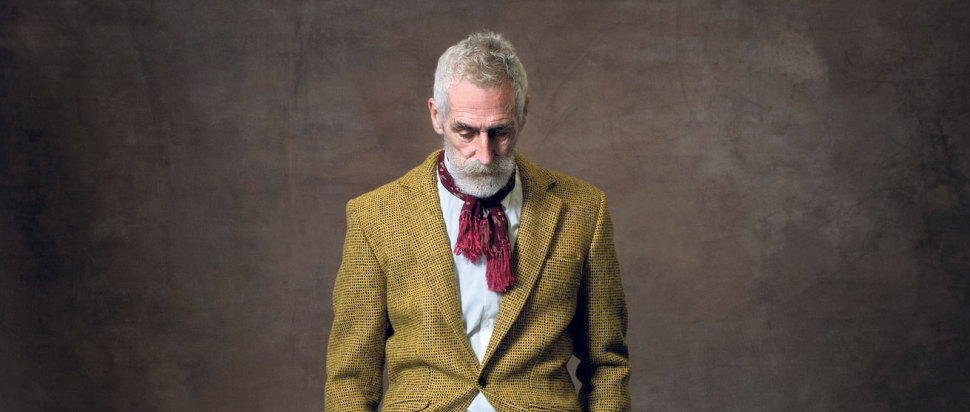 David Eustace - John Byrne in Yellow Tweed Suit