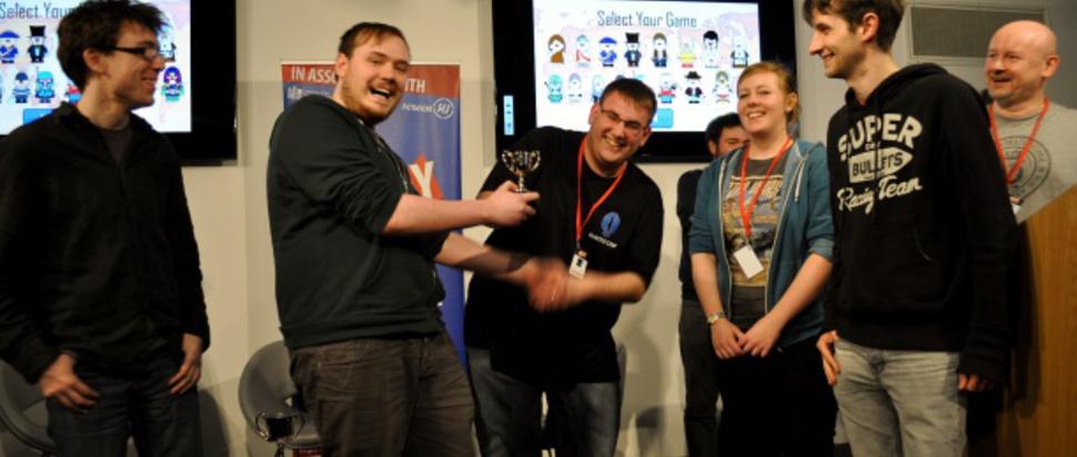 2014 Game Jam winners, Hunted Cow Studios