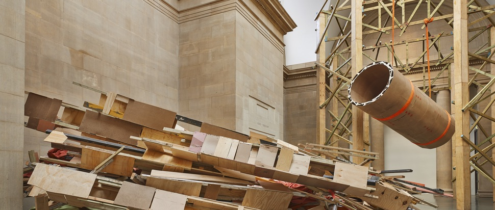 Phyllida Barlow, dock (Tate Britain, London)