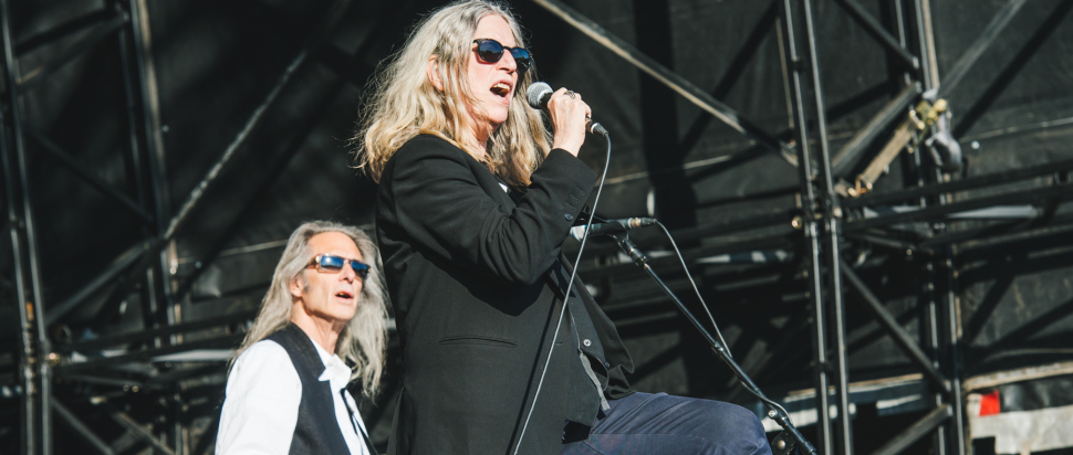 Patti Smith at Field Day 2015