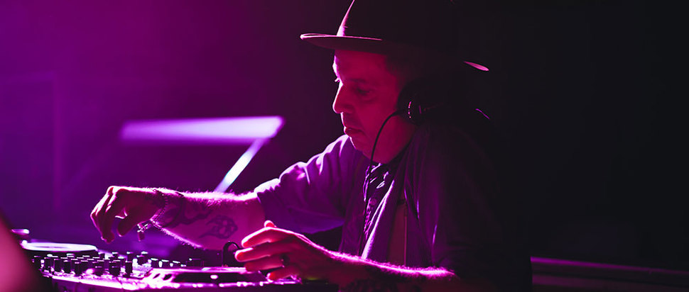 Andrew Weatherall at UntitledLive