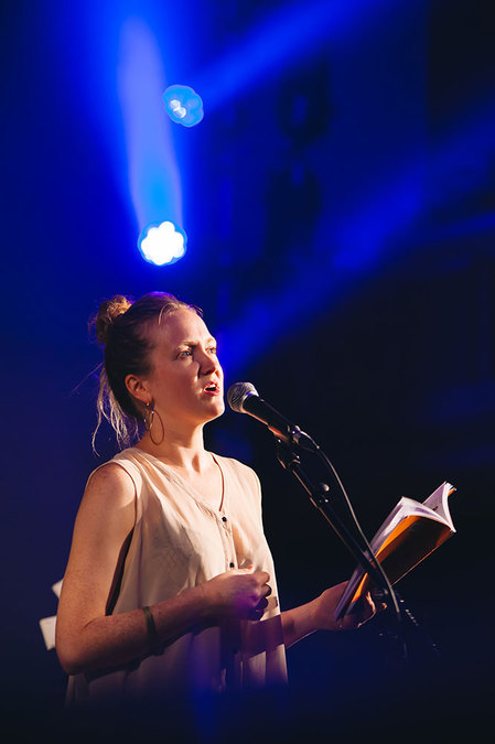 Hollie McNish at UntitledLive