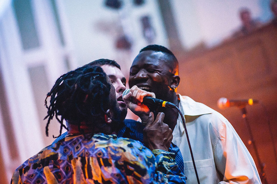 Young Fathers at UntitledLive