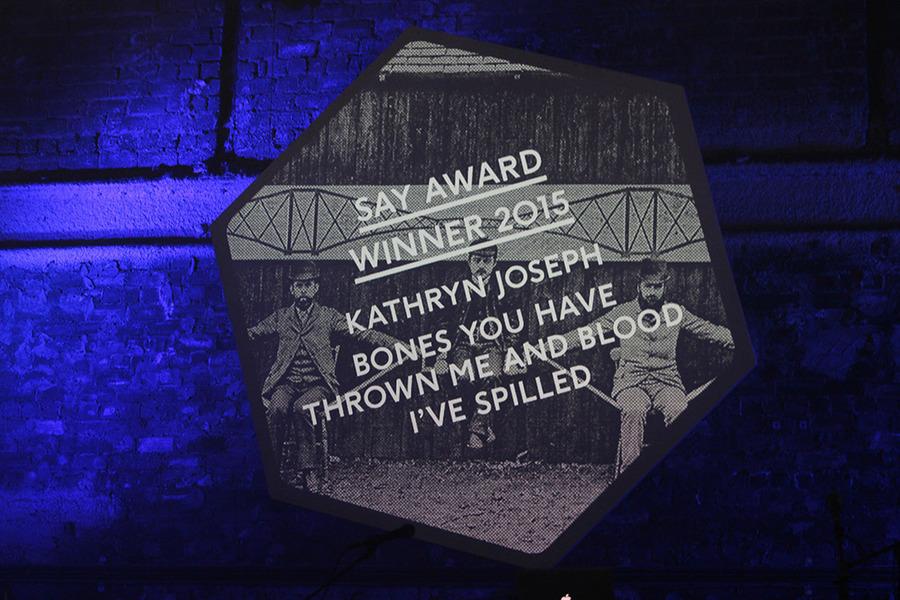 Kathryn Joseph, SAY Award Winner 2015