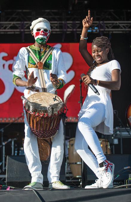 Africa Oyé 2015 - Sarabi