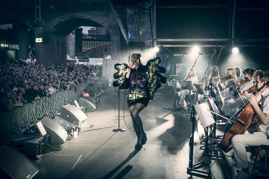 Bjork, Manchester International Festival
