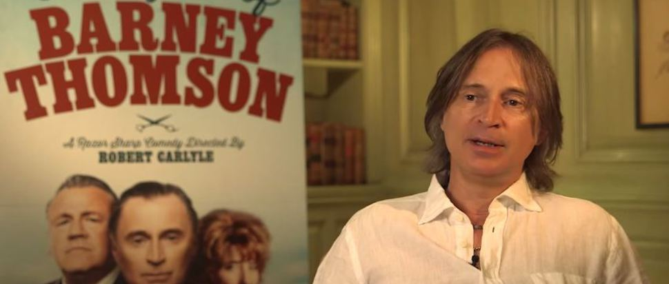 Robert Carlyle on The Legend of Barney Thomson