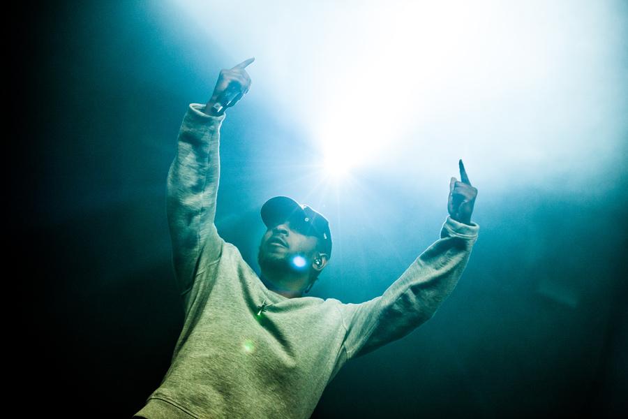 Kendrick Lamar at Lowlands Festival 2015
