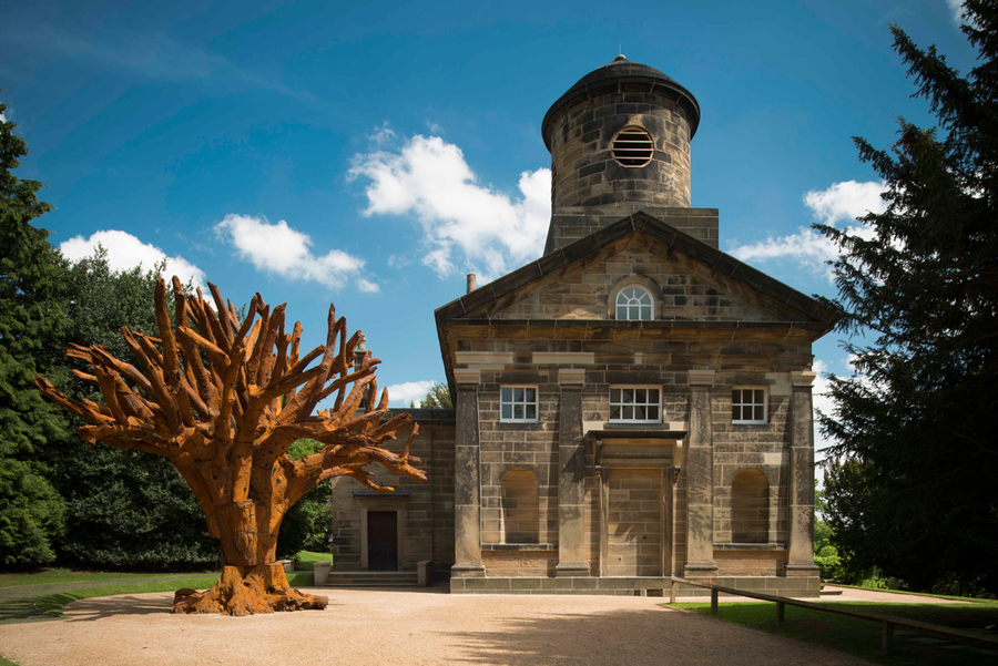 Ai Weiwei - Iron Tree (2013), Yorkshire Sculpture Park