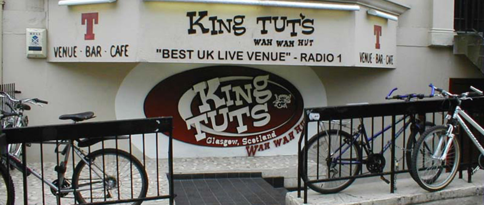 King Tut's Wah Wah Hut Glasgow