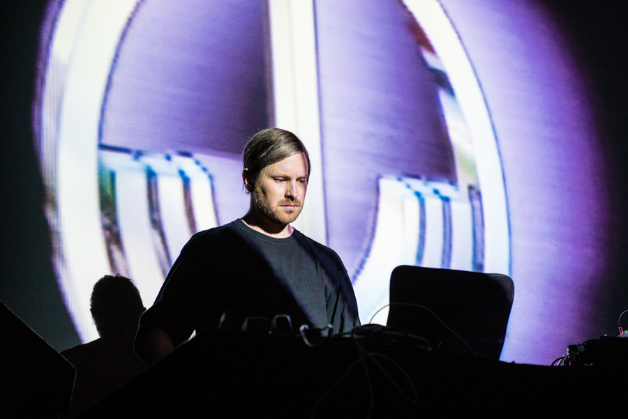 Blanck Mass at the Pleasance Sessions 2015