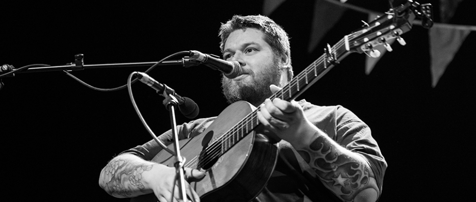 RM Hubbert at Pleasance Sessions 2015