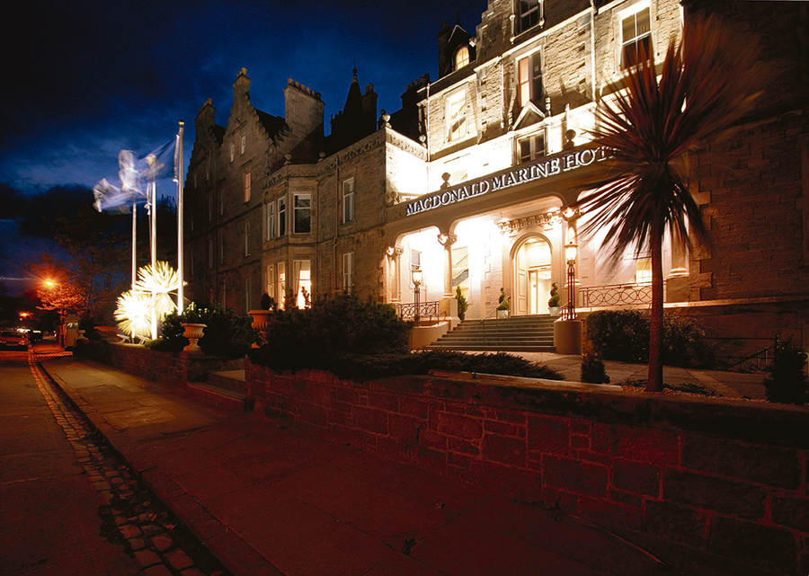 Saltire Festival: McDonald Marine Hotel