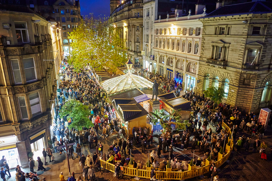 Manchester Christmas Markets: Best Places to Eat - The Skinny