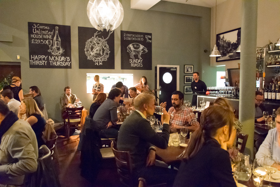 The Northern Quarter Restaurant, Game Evening