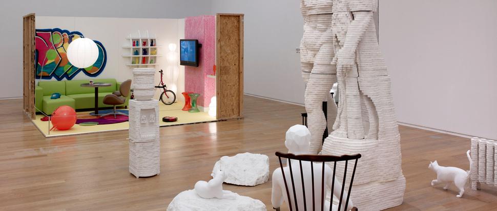Matthew Darbyshire - Blades House (2007/14)