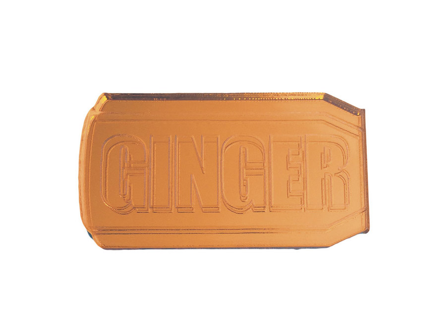 Ginger mirror badge