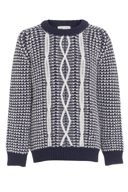 Beaumont Organic knitted wool jumper
