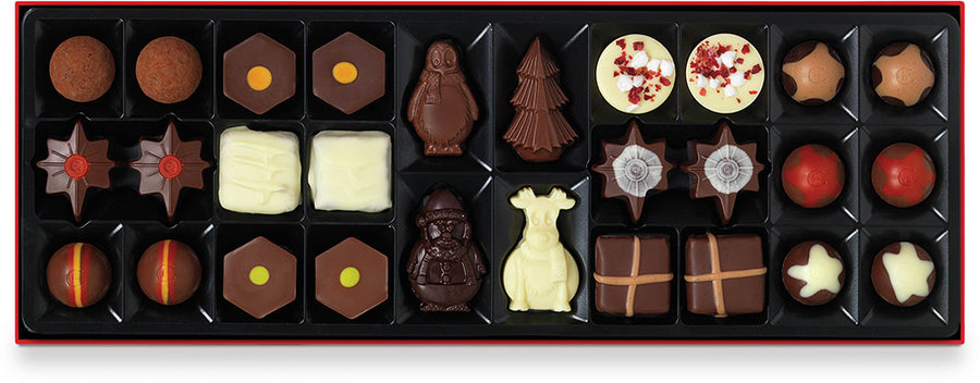 Hotel Chocolat Xmas Chocolates Sleekster