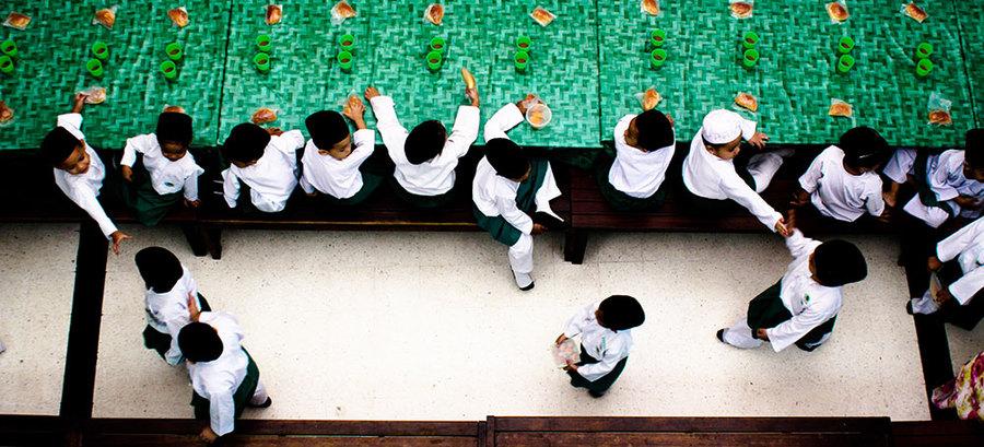 Children at Mosque