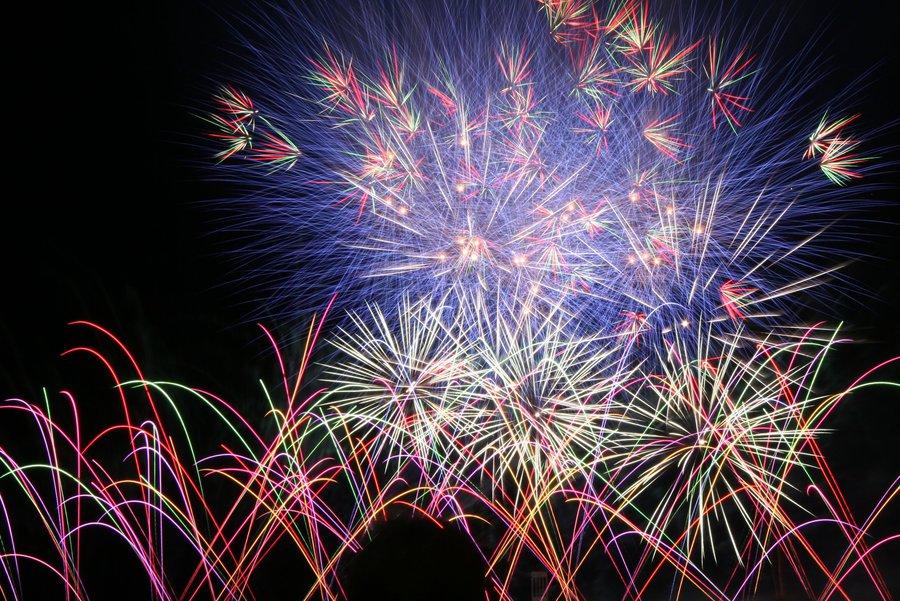 Berlin fireworks